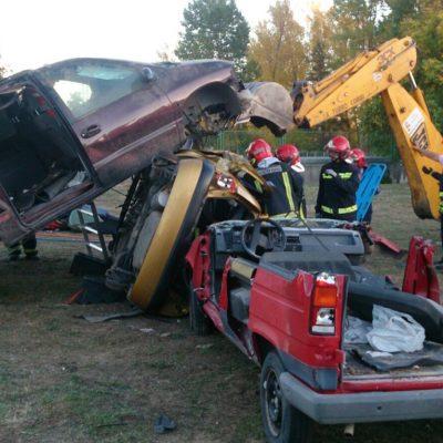Rescate en accidentes de tráfico (Excarcelación)
